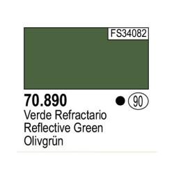 Acrilico Model Color, Verde Refrectario ( 090 ). Bote 17 ml. Marca Vallejo. Ref: 70.890.