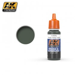 Acrilico French Army Green. Bote 17 ml. Marca Ak-Interactive. Ref: Ak4082.