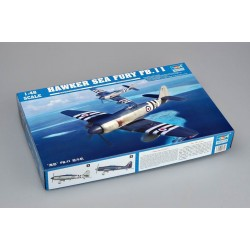 Hawker Sea Fury FB.11. Escala 1:48. Marca Trumpeter. Ref: 02844.
