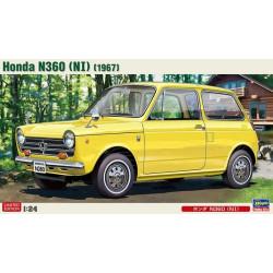 Honda N360 (NI), 1967. Escala 1:24. Marca Hasegawa. Ref: 20285.