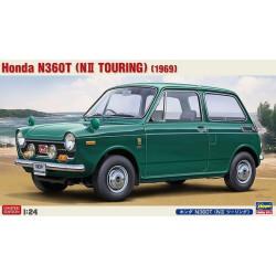 Honda N360T (NII Touring), 1969. Escala 1:24. Marca Hasegawa. Ref: 20300.