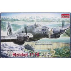 Avión Heinkel He-111B Pedro, Guerra civil española. Escala 1:72. Marca Roden. Ref: 005.
