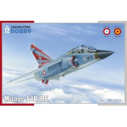 "Mirage F.1B / BE "" Two seater "". Escala 1:72. Marca Special Hobby. Ref: 72291."