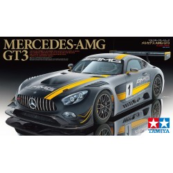 Mercedes-AMG GT3. Kit de plástico para ensamblar y pintar. Escala 1:24. MarcaTamiya. Ref: 24345.