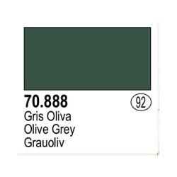 Acrilico Model Color, Gris oliva ( 092 ). Bote 17 ml. Marca Vallejo. Ref: 70.888.