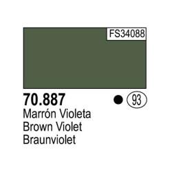 Acrilico Model Color, Marrón Violeta ( 093 ). Bote 17 ml. Marca Vallejo. Ref: 70.887.