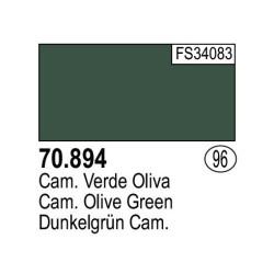 Acrilico Model Color, Camuflaje Verde oliva ( 096 ). Bote 17 ml. Marca Vallejo. Ref: 70.894.