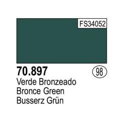 Acrilico Model Color, Verde Broceado ( 098 ). Bote 17 ml. Marca Vallejo. Ref: 70.897.