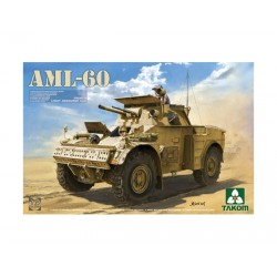 French Light Armoured car AML-60. Escala 1:35. Marca Takom. Ref: 02084.
