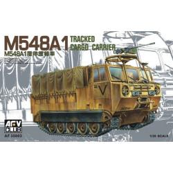 M548A1 transporte de munición.  Escala 1:35. Marca AFV Club. Ref: 35003.