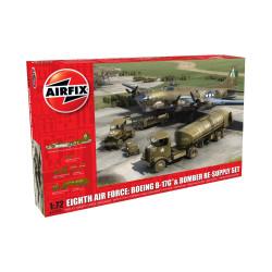 Set Eighth Air Force: Boeing B-17G™ & Bomber Re-supply . Escala 1:72. Marca Airfix. Ref: A12010.