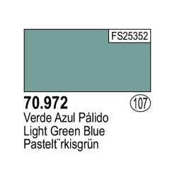 Acrilico Model Color, Verde azul palido ( 107 ). Bote 17 ml. Marca Vallejo. Ref: 70.972.