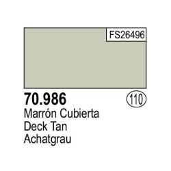 Acrilico Model Color, Marrón cubierta ( 110 ). Bote 17 ml. Marca Vallejo. Ref: 70.986.