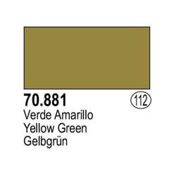 Acrilico Model Color, Verde amarillo ( 112 ). Bote 17 ml. Marca Vallejo. Ref: 70.881.