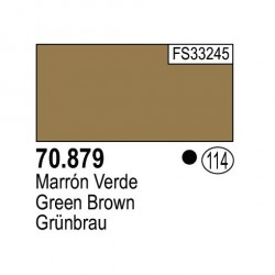Acrilico Model Color, Marrón verde ( 114 ). Bote 17 ml. Marca Vallejo. Ref: 70.879.