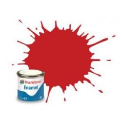 Rojo Brillante italiano ( 220 ). Bote 14 ml. Marca Humbrol. Ref: AA6608.