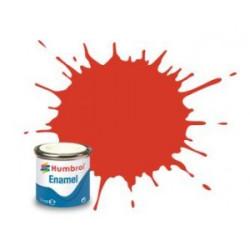 Rojo señal Satinado ( 174 ). Bote 14 ml. Marca Humbrol. Ref: AA1897.