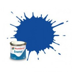 Azul noche metalizado ( 222 ). Bote 14 ml. Marca Humbrol. Ref: AA7222.