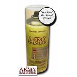 Aerosol Barniz Acrilico Mate. Bote 400 ml. Marca The army painter. Ref: CP3003.
