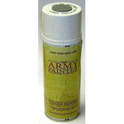 Aerosol imprimación Uniforme gris. Bote 400 ml. Marca The army painter. Ref: CP3010.