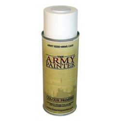 Imprimación Blanco mate. Bote 400 ml. Marca The army painter. Ref: CP3002.