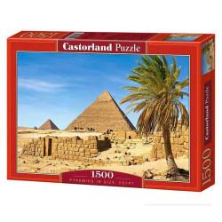 Puzzle Piramide en Giza, Egipto. Puzzle 1500 piezas. Marca Castorland. Ref: C-150618.