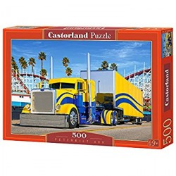 Puzzle camión Peterbilt. Puzzle 500 piezas. Marca Castorland. Ref: B-52059.
