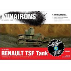 Carro Renault TSF. 1unidad de resina y plástico. Escala 1:72. Marca Minairons miniatures. Ref: 20IGV004.