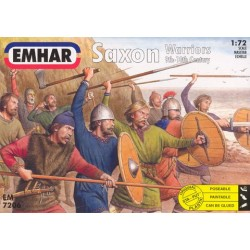 Set Saxon Viking Warriors (9th-10th Century). Escala 1:72. Marca Emhar. Ref: EM7206.