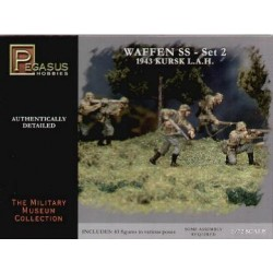 Infanteria Waffen SS 1943 WWII Set 2. Escala 1:72. Marca Pegasus. Ref: PG7202.