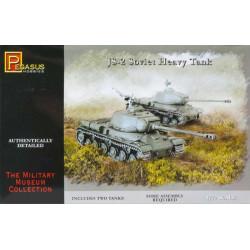 Tanque JS-2 Soviet heavy, WWII. 2 piezas. Escala 1:72. Marca Pegasus. Ref: PG7669.