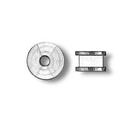 Poleas de latón diámetro 6 mm ( 5 unds. ). Marca Amati. Ref: 485006.