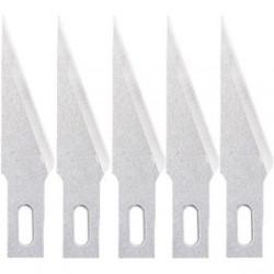 Conjunto de 5 cuchillas Nº11 para cutter 25101. Marca Dismoer. Ref: 25201.