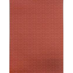 Papel victoriano color marrón anaranjado. Marca Artesania Latina. Ref: 06247.