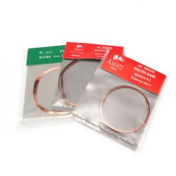 lamina de cobre para guias de botadones. 0.2 x 3 x 1000 mm. Marca Amati. Ref: 2835/03.