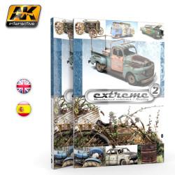 Libro técnico Extremo en vehículos, Realidad Extrema Nº2. Marca AK Interactive. Ref: AK504.