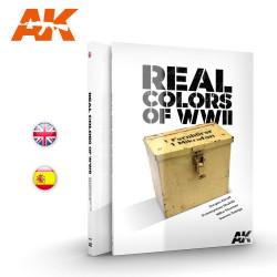 Libro de los colores reales de la WWII. Marca AK Interactive. Ref: AK188.