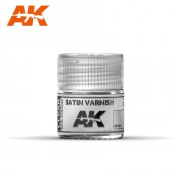 Satin Varnish, Barniz satinado. Cantidad 10 ml. Marca AK Interactive. Ref: RC501.