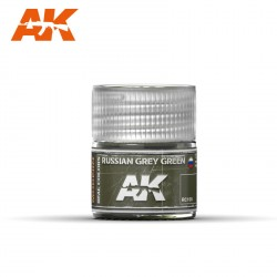 Russian grey green. Cantidad 10 ml. Marca AK Interactive. Ref: RC100.