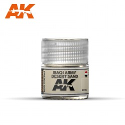 Iraq army desert sand. Cantidad 10 ml. Marca AK Interactive. Ref: RC104.