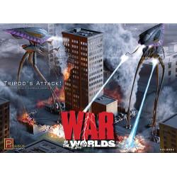 Tripods Attack, war of the worlds. Escala 1:350. Marca Pegasus. Ref: 9006.