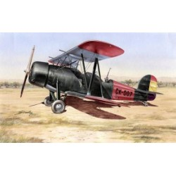 "Avión Koolhoven FK-51 "" guerra civil española "". Escala 1:72. Marca Azur. Ref: A064."