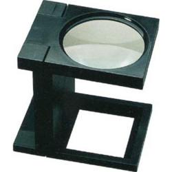 Lupa lectora plegable de 3x y 90 mm. Marca Dismoer. Ref: 19120.