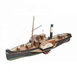 Vanguard, Wood Paddle Tug. Escala 1:50. Marca Disarmodel. Ref: 20151.