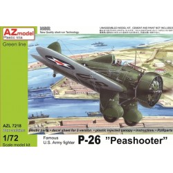 "P-26 "" Peashooter "" Escala 1:72. Marca AZmodel. Ref: AZL7218."