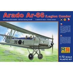 Arado Ar-66, legion condor. Escala 1:72. Marca RSmodels. Ref: 92060.