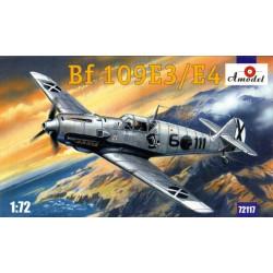 Caza Bf 109E3/E4. Escala 1:72. Marca Amodel. Ref: 72117.