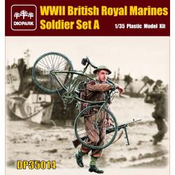 British royal marines soldier. Escala 1:35. Marca Diopark. Ref: 35014.