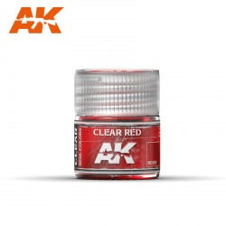 Clear red. Cantidad 10 ml. Marca AK Interactive. Ref: RC503.