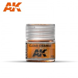 Clear Orange. Cantidad 10 ml. Marca AK Interactive. Ref: RC506.